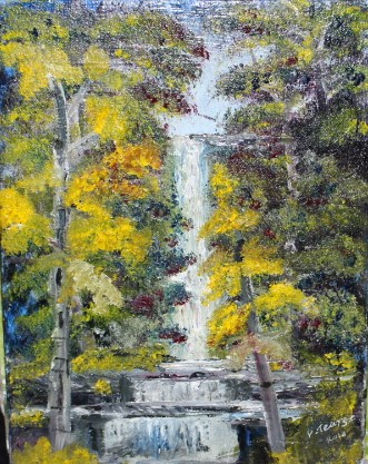 pauls gallery, paintings from the mind, paintings with parkinsons